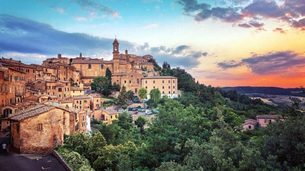 Маршрут по Италии - Montepulciano
