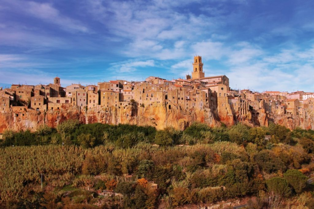 Маршрут по Италии - Pitigliano