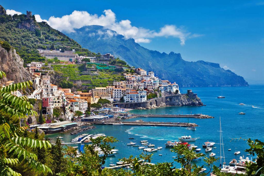 Маршрут по Италии - Amalfi