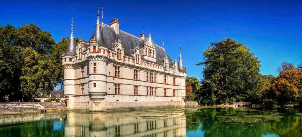 Замки Франции: Замок Азе-лё-Ридо
