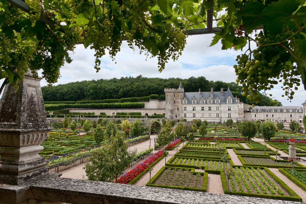 Замки Франции: Замок Вилландри