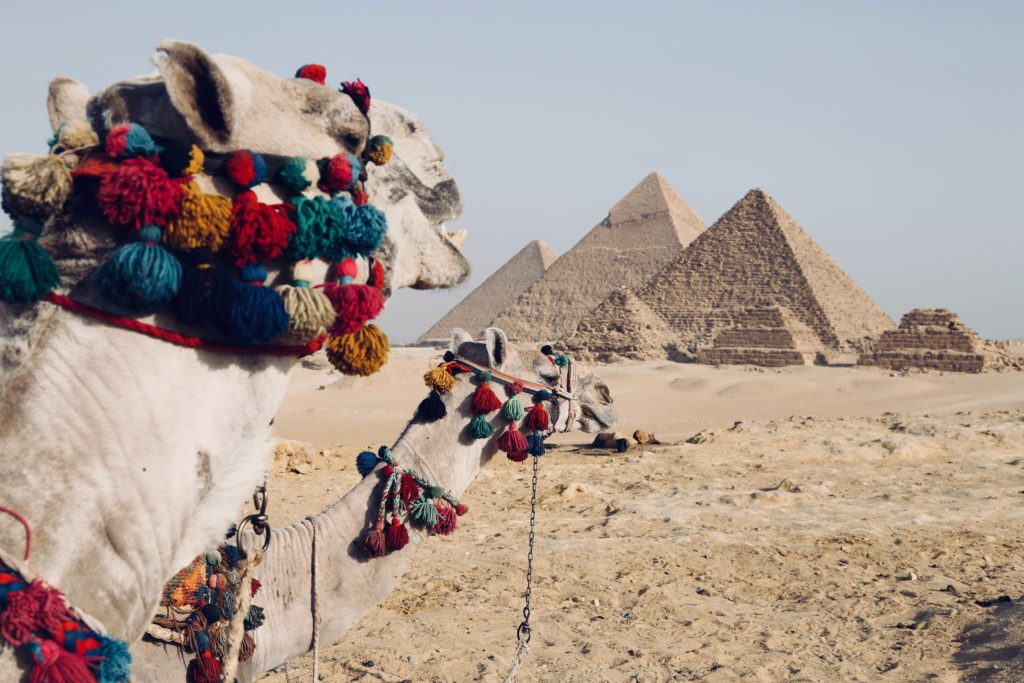 Пирамиды в Египте