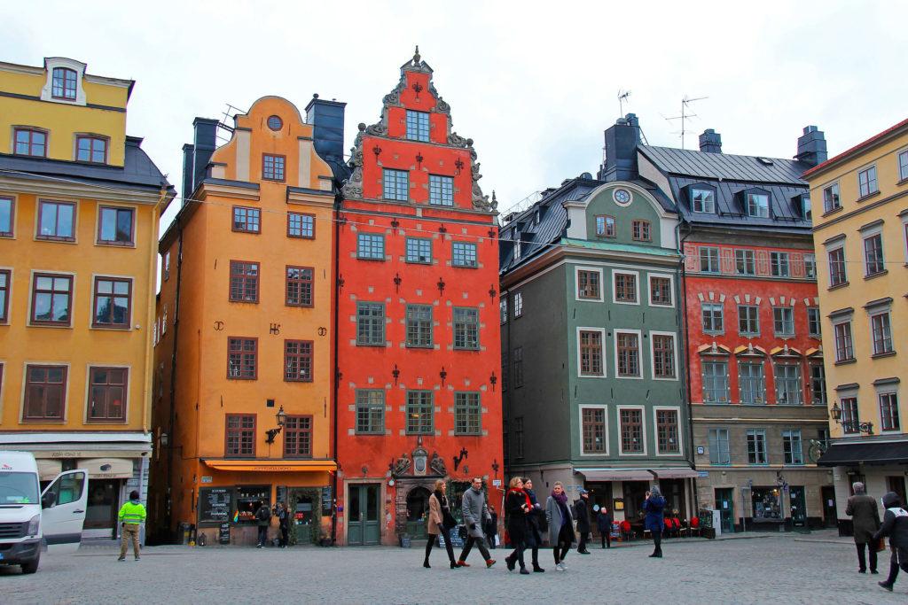 Центр города Стокгольм