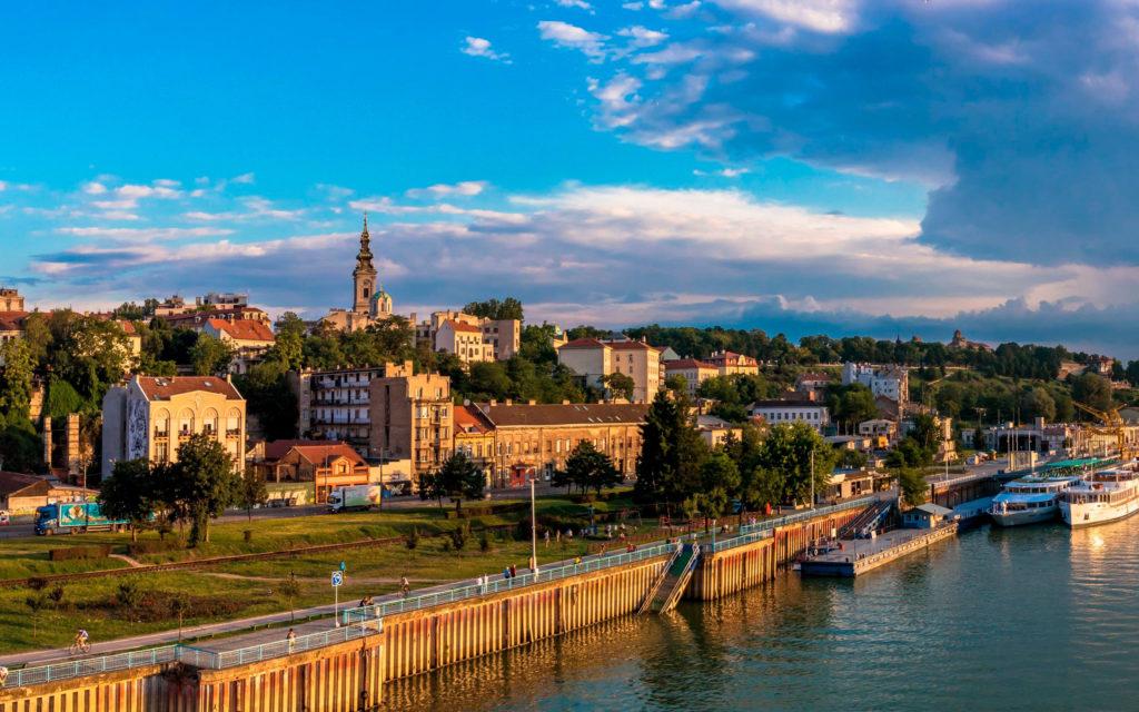 Сербия город на воде Белград