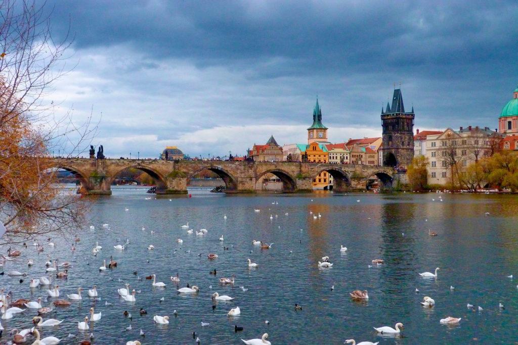 Карлов Мост Прага Чехия