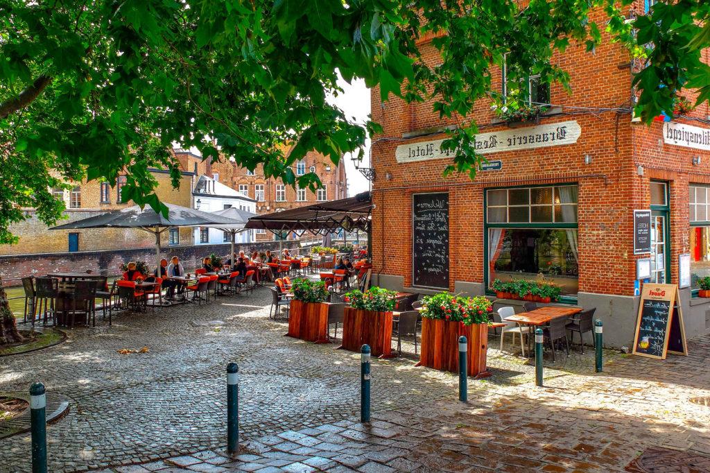 Лучшие места для размещения в Брюгге Бельгия