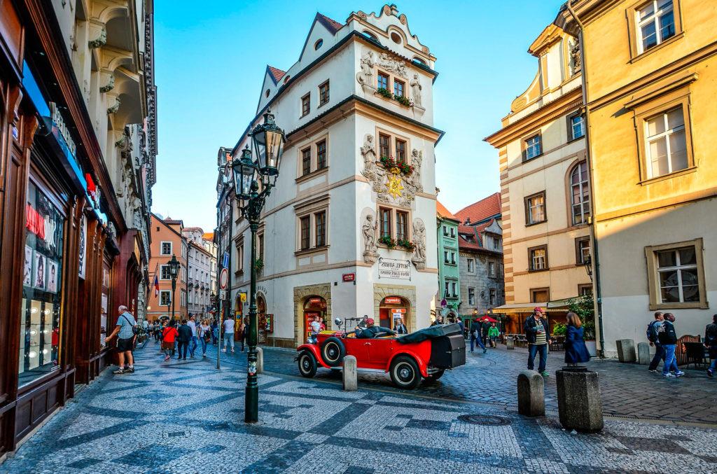 из Дрездена в Прагу