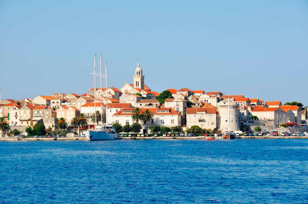 Остров Корчула Хорватия