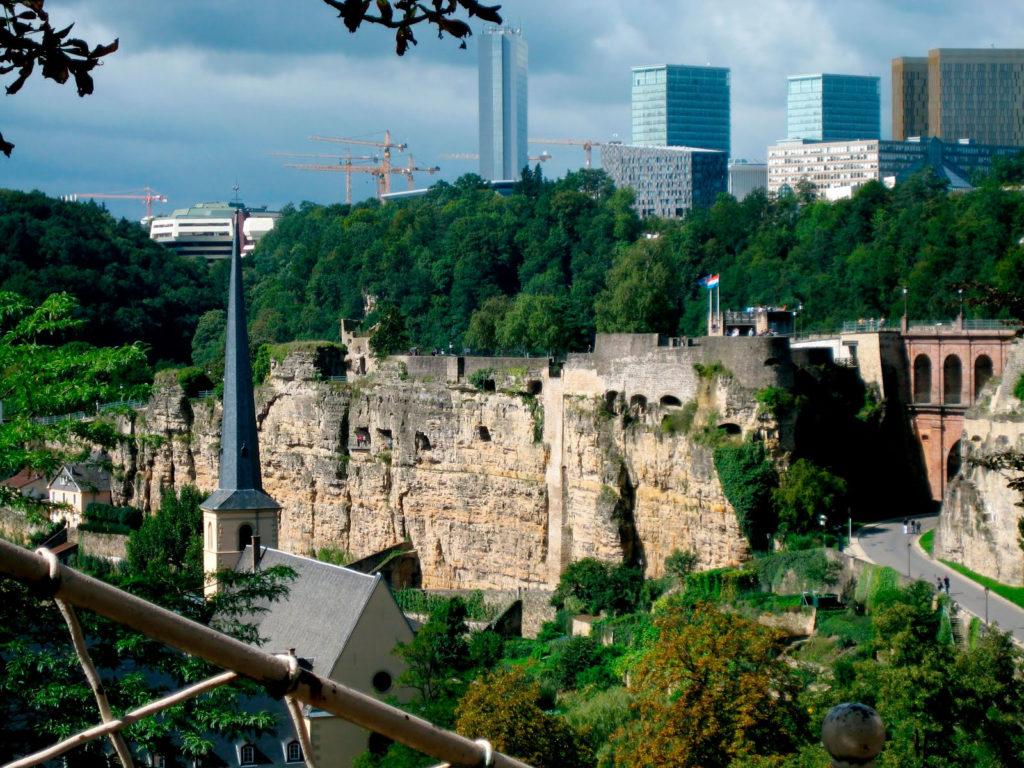 BockCasemates - туннели в Люксембурге