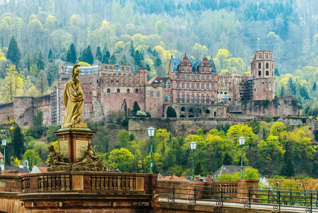 Замки в Германии: Замок Гейдельберг