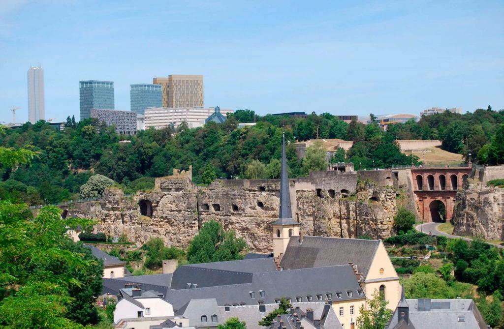 Люксембург район Кирхберг