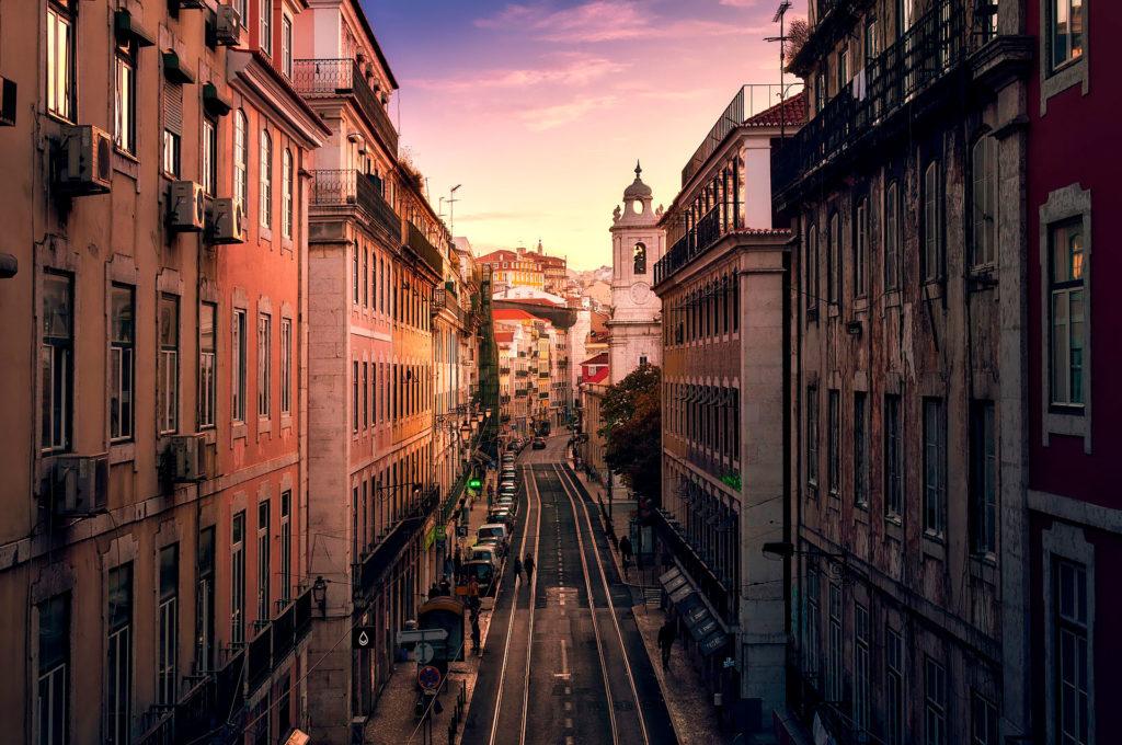 Лисабон город Португалия