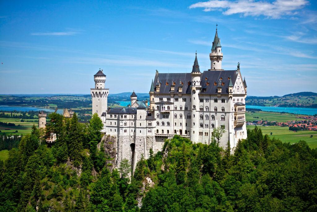 Замки Германии: Нойшванштайн