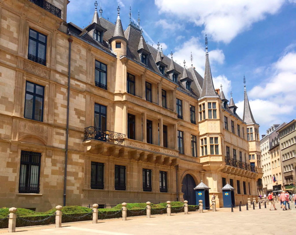 Великий Герцогскийдворец Люксембурга