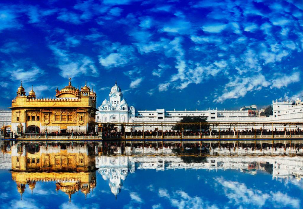 Золотой храм в Пенджабе