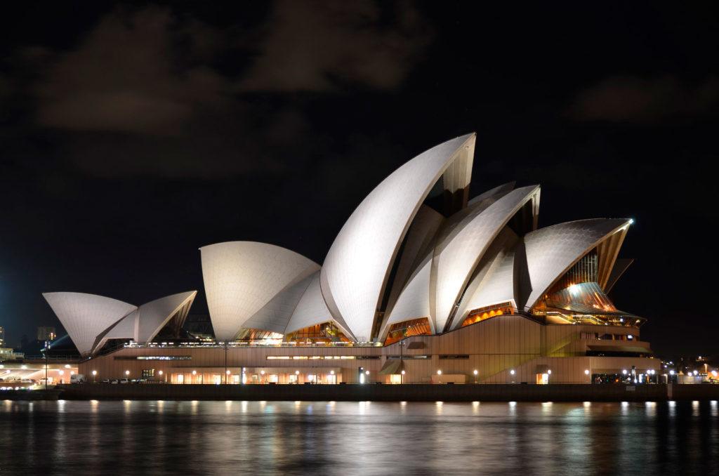 Сиднейский оперный театр вАвстралии