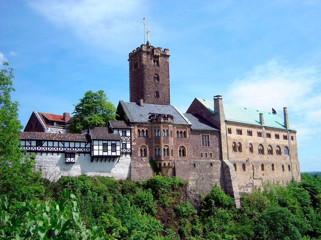 Замки Германии Вартбург