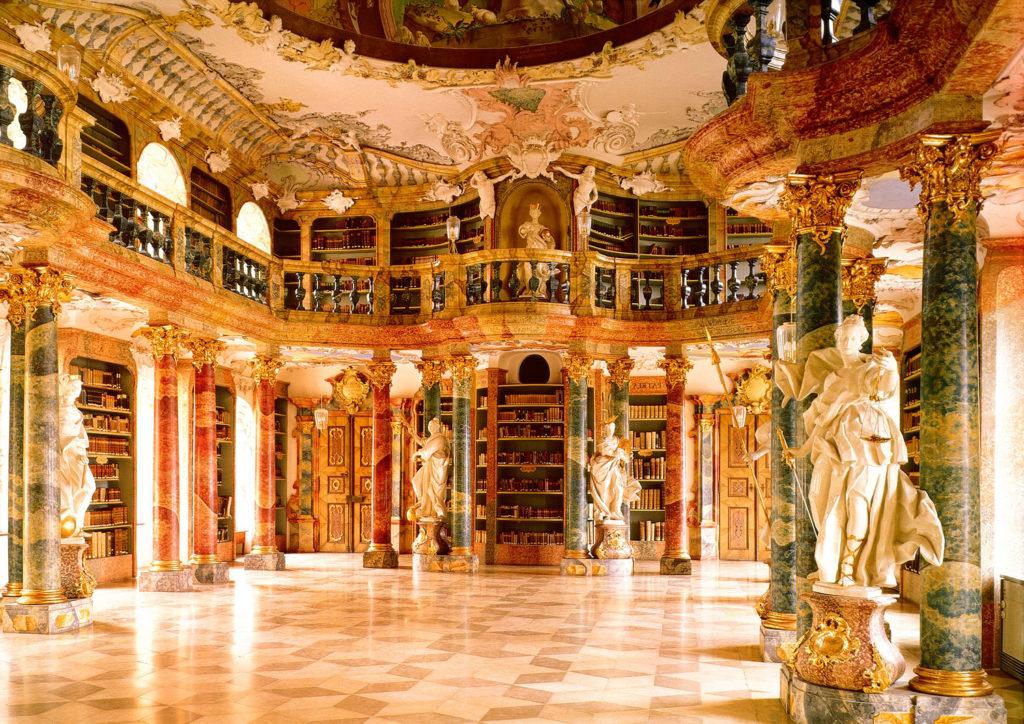Библиотека аббатстваВиблинген