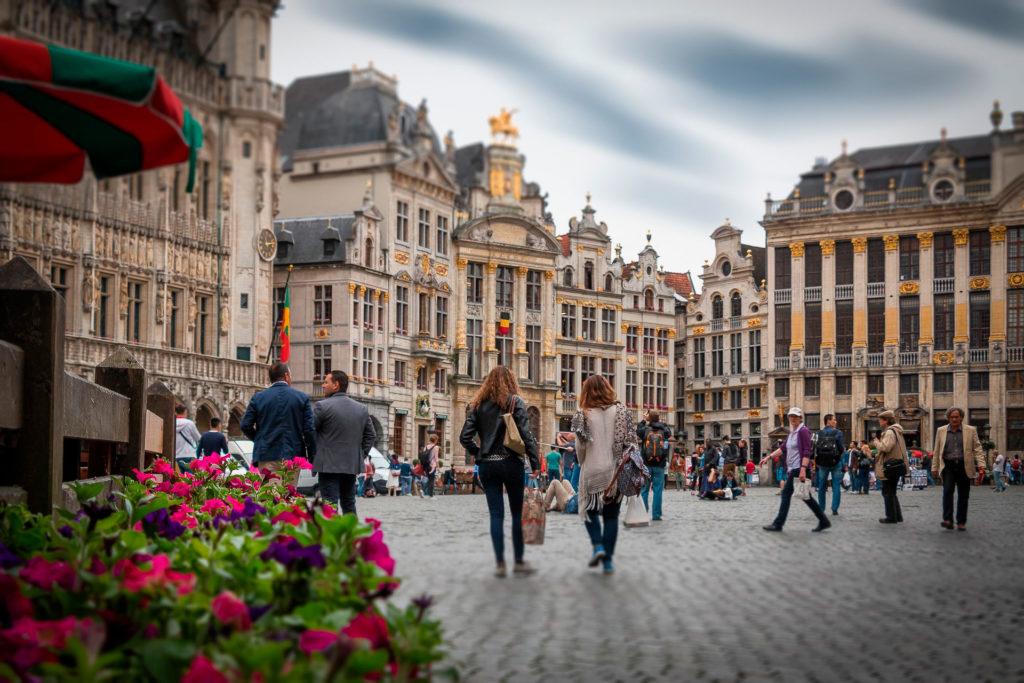 Зарплата в Брюсселе
