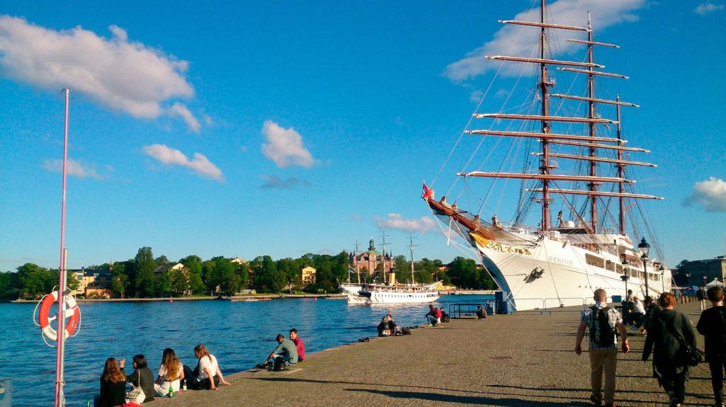 Студенты в Стокгольме