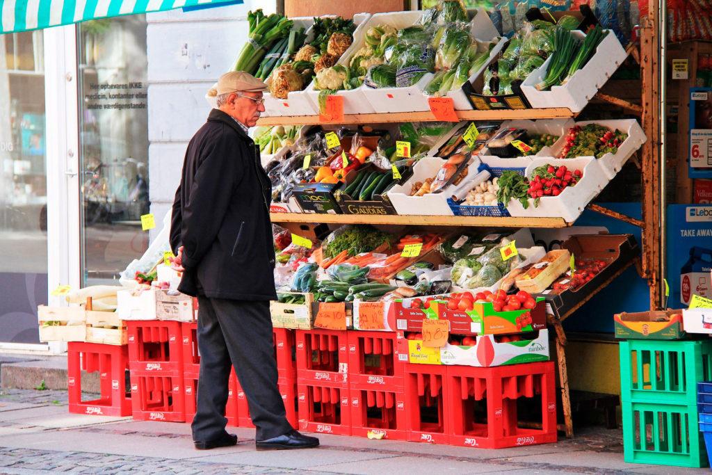 Цены в Копенгагене на продукты