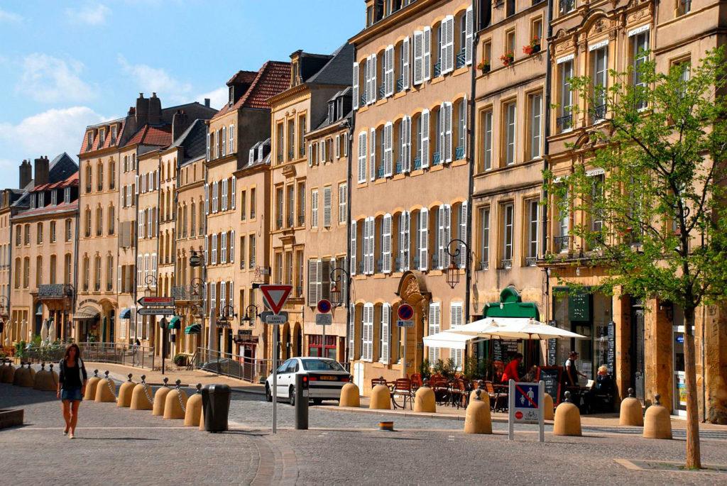 Город во Франции Мец