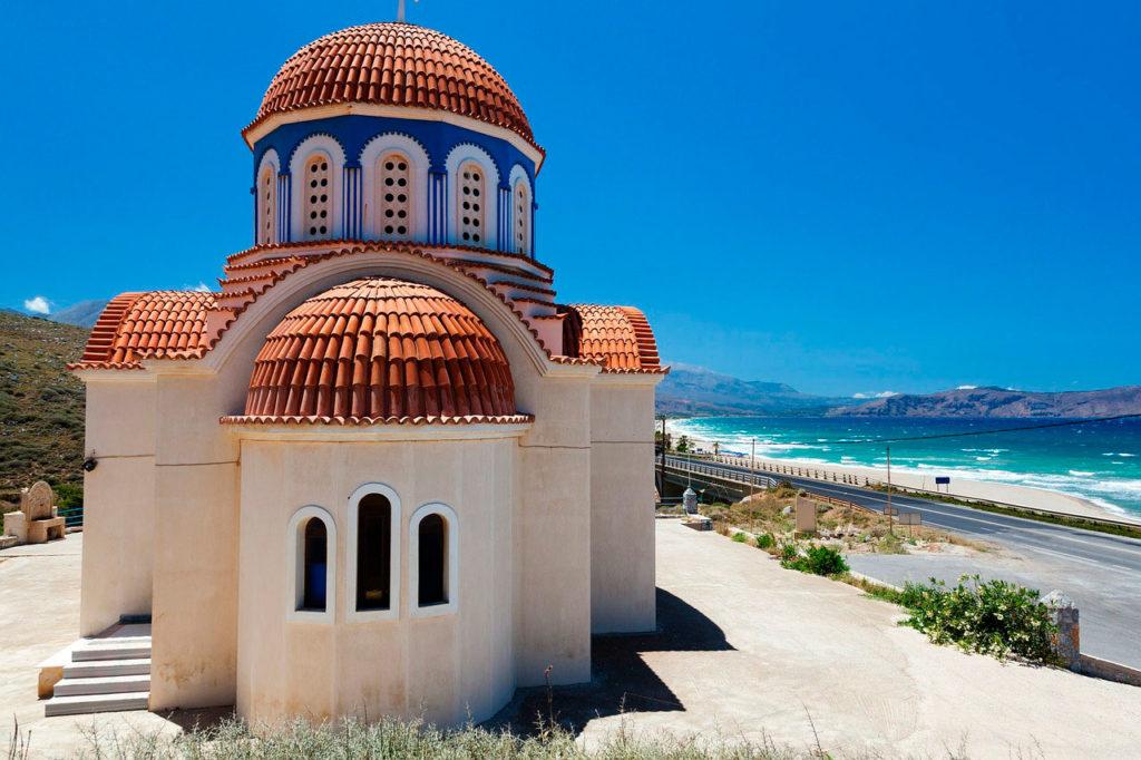проживания на острове Крит