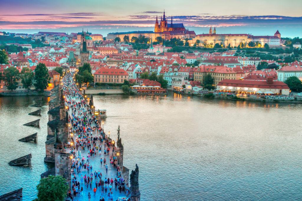 Прага осень