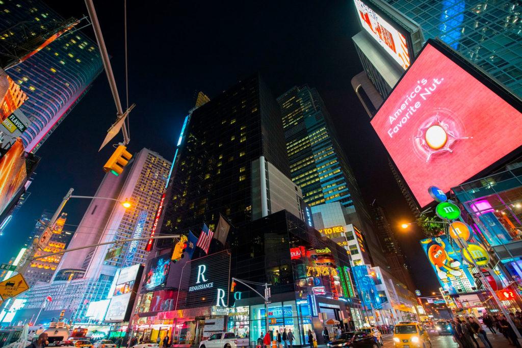 Нью-Йорк называется городом, который никогда не спит