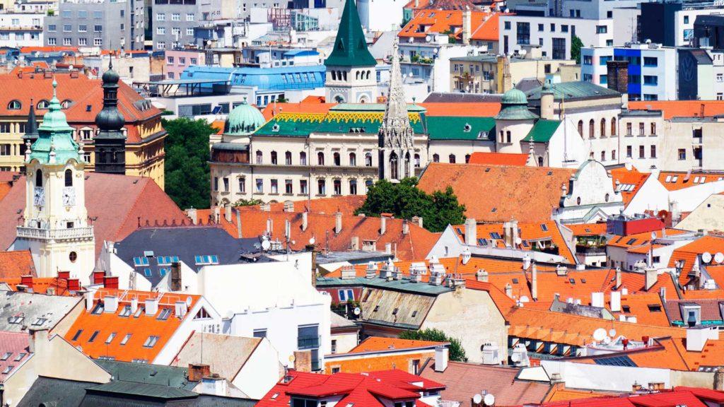 Стоимость проживания для студентов в Словакии, Братислава