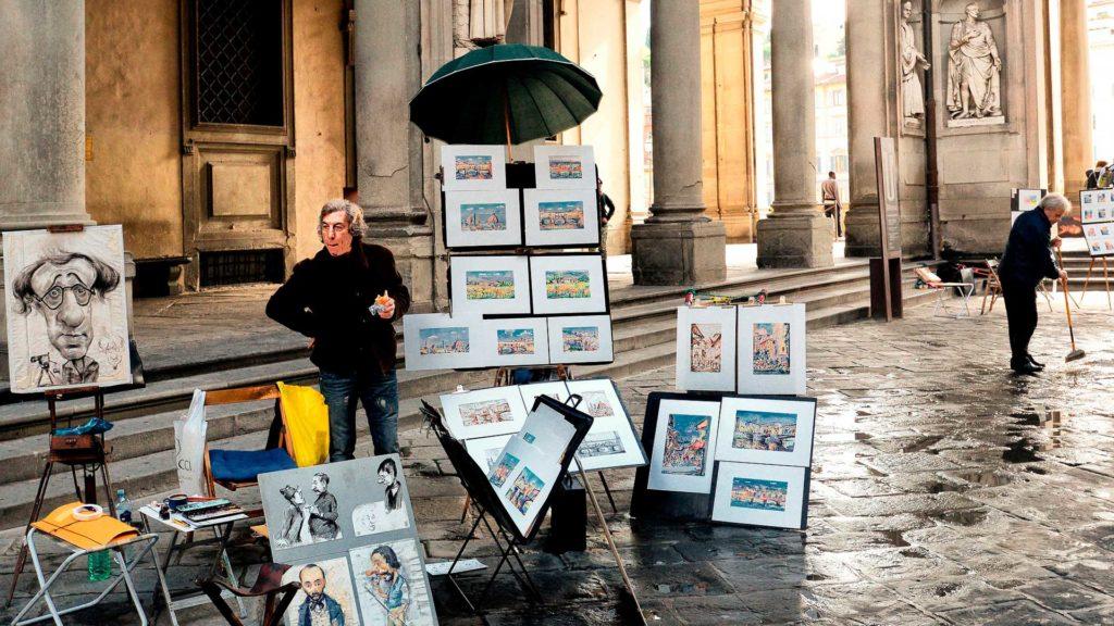 Работа во Флоренции, Италия