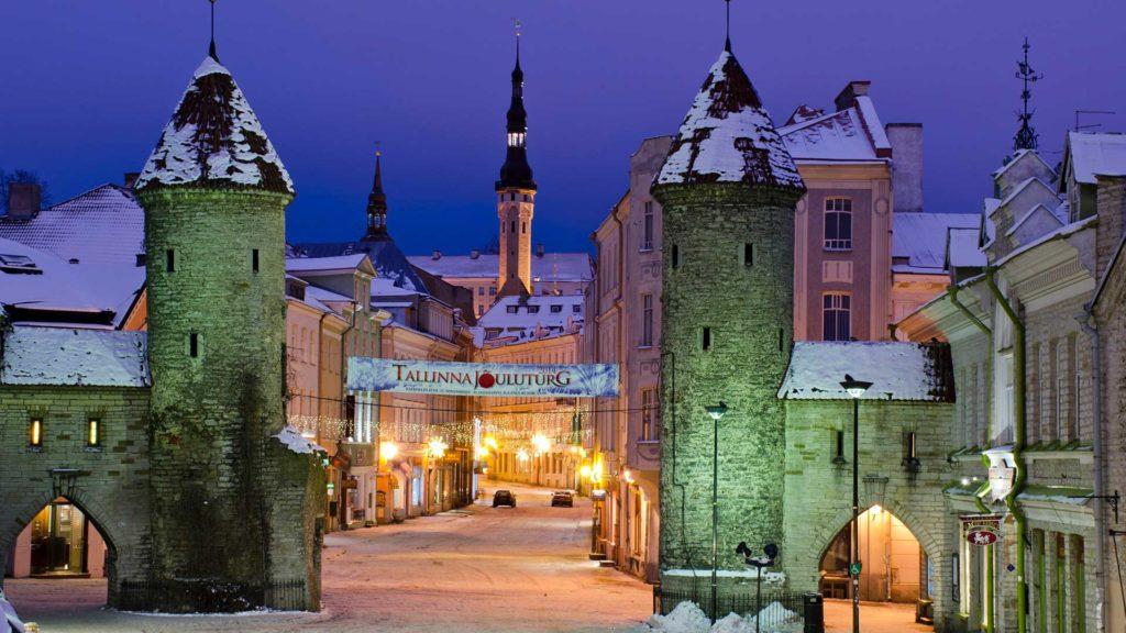 Зима в Южной Европе