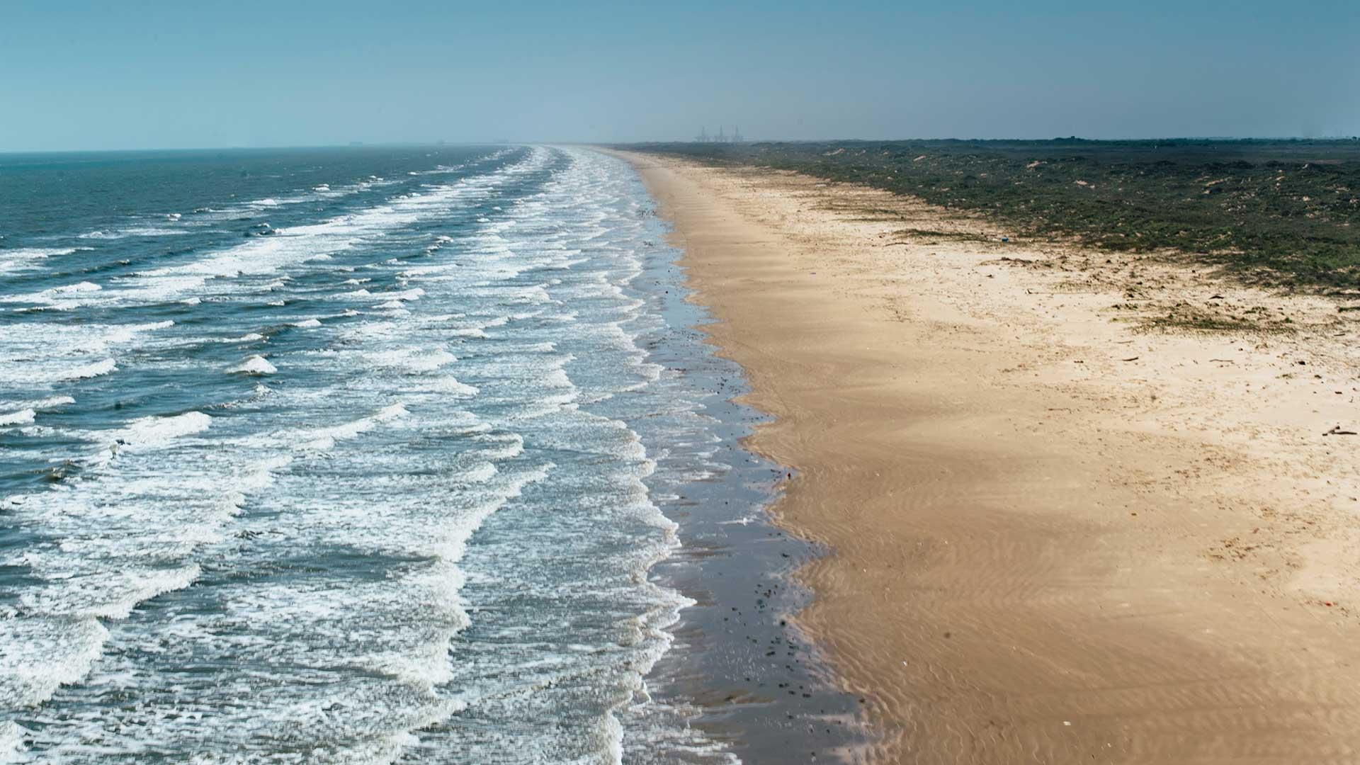 Остров Саус-Падре, Техас (Побережье Мексиканского Залива)