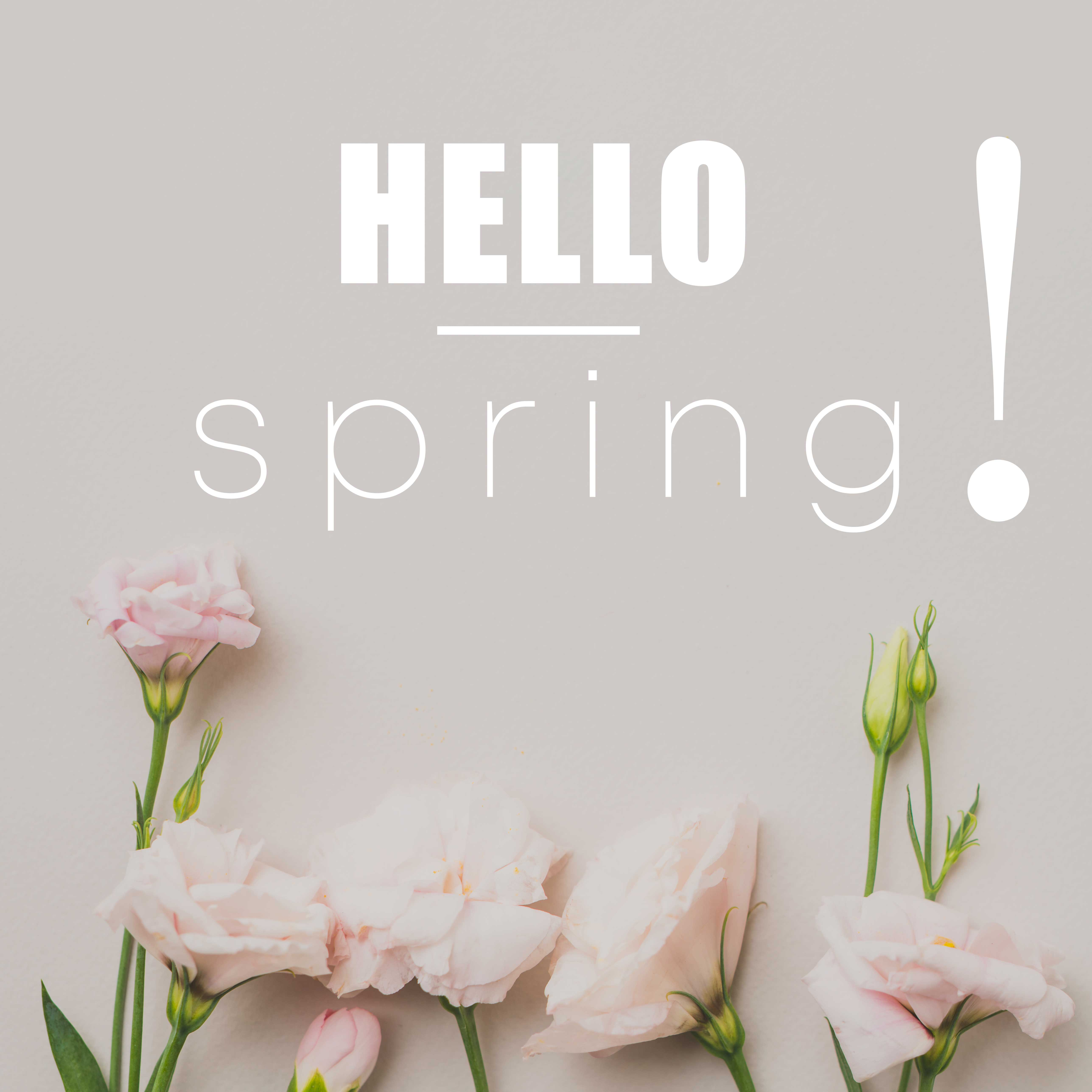 Весна, привет!
