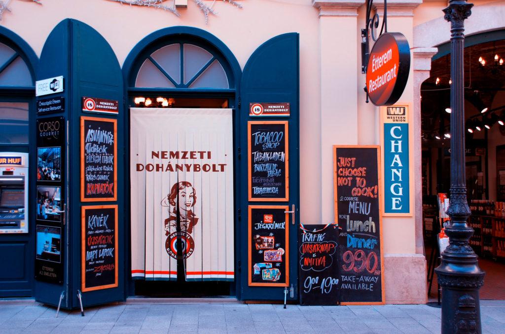 Цены в Будапеште, Венгрия