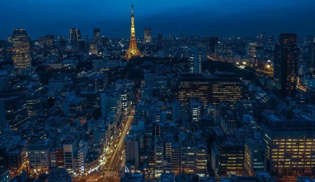 Районы в Токио