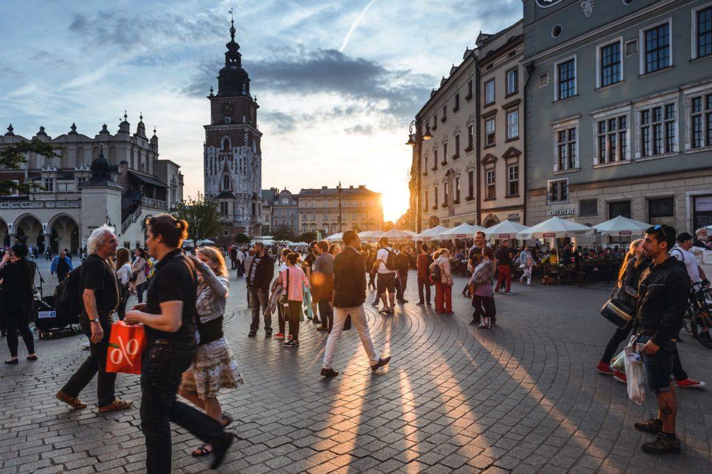 Площадь Польша