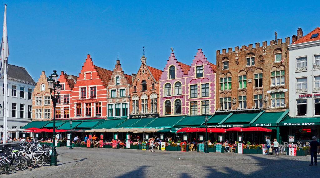 Туристы в Бельгии