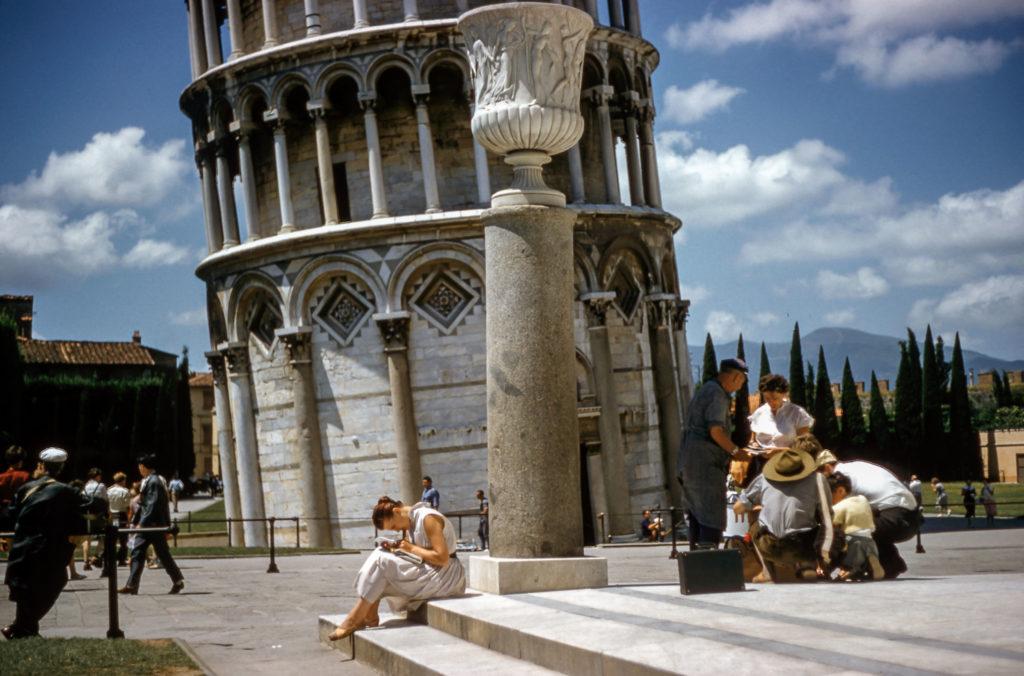 Туристы в Риме
