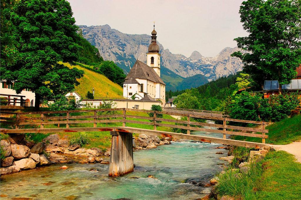 Франция Достопримечательности: Монблан и французские Альпы