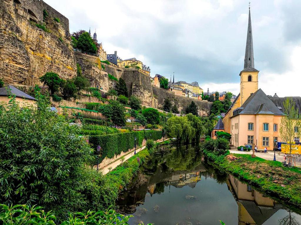 Гранду - историческое место Люксембург