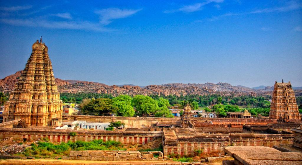 Храмовый комплекс Хампив Карнатаке