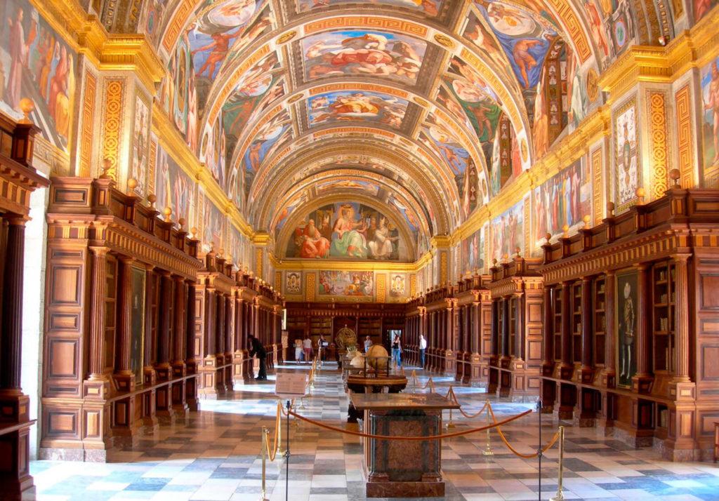 Библиотека Королевского участка Сан-Лоренцо-де-Эскориал
