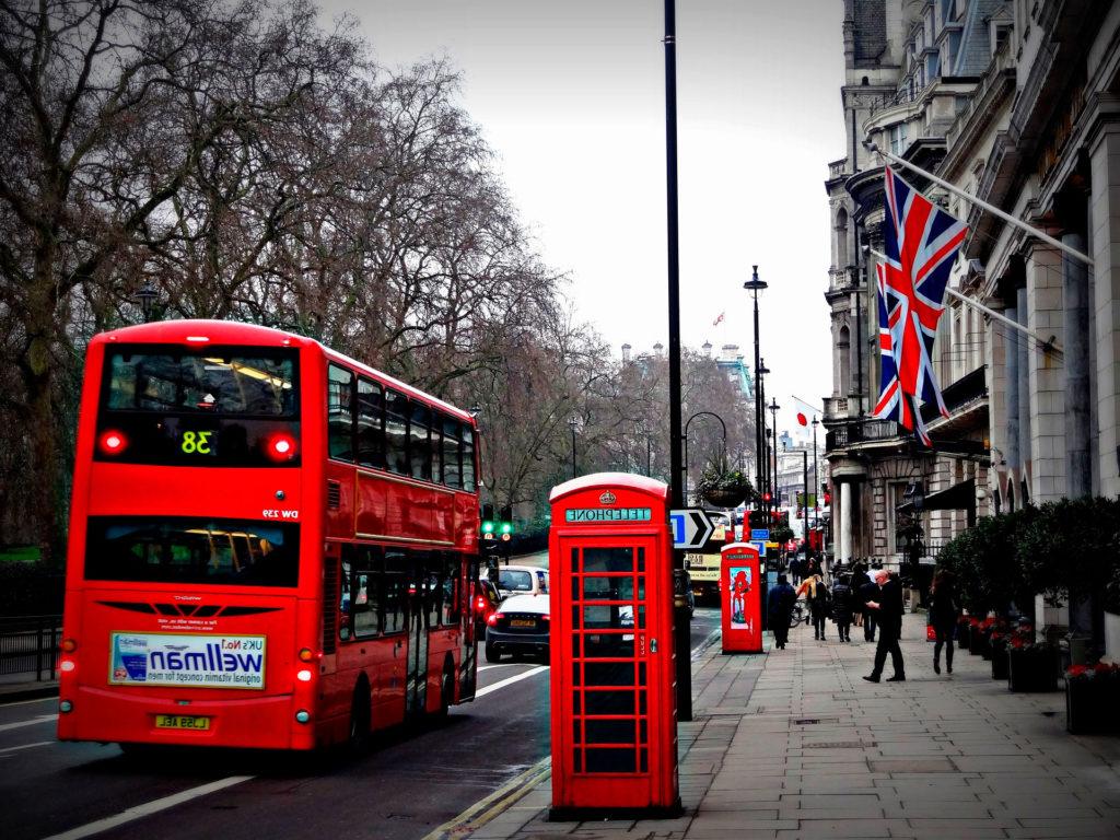 Цены в Лондоне Великобритания