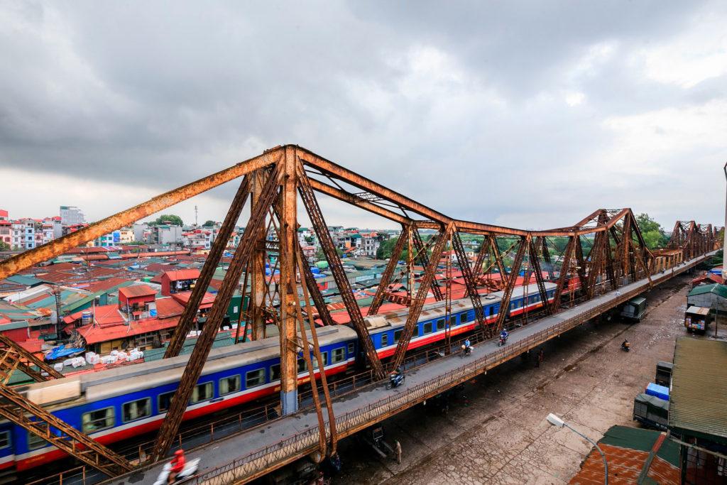 Из Ханоя в Данангна поезде