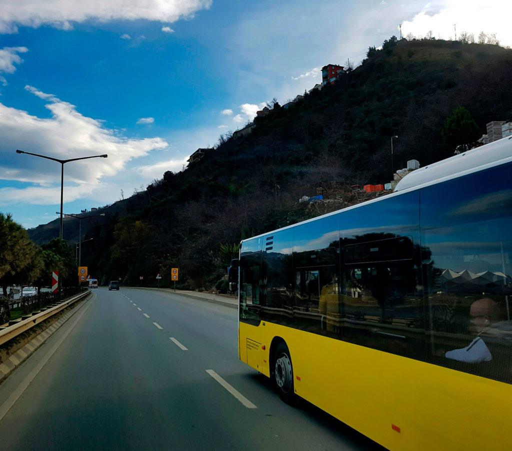 Из Праги в Карловы Вары на автобусе