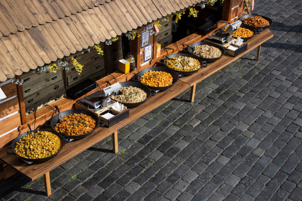 Продегустируйте чешскую кухню на рынке Наплавка
