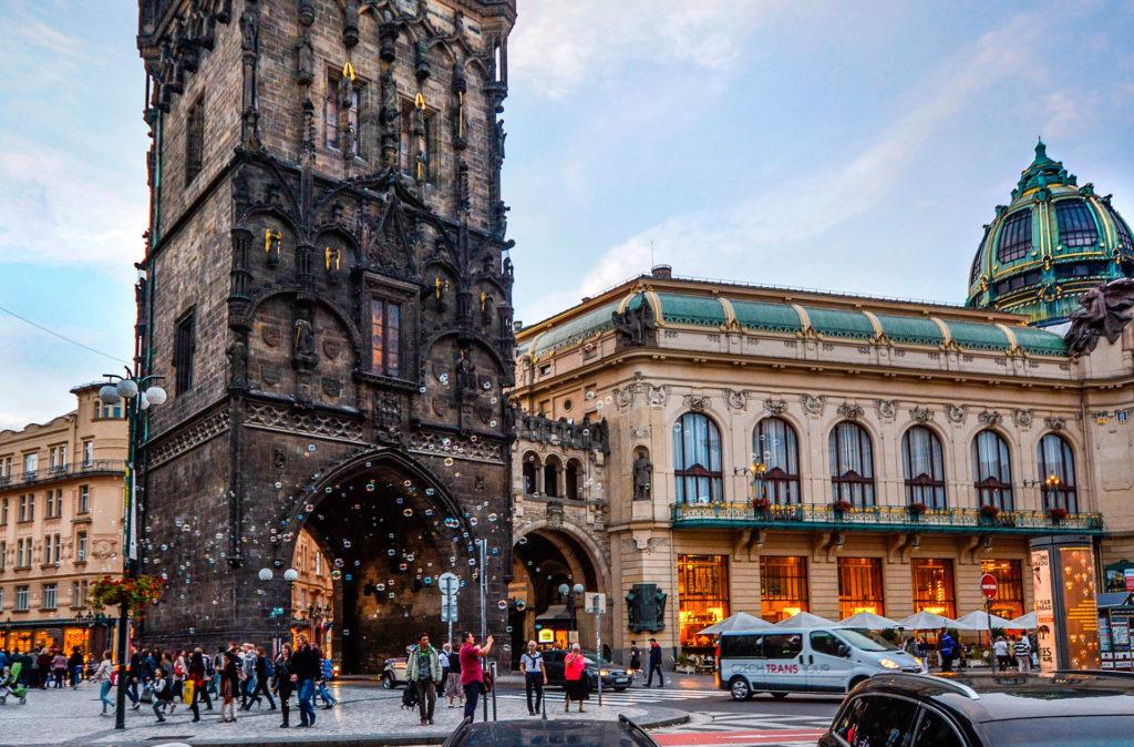 Из Праги в Карловы Вары: Маршрут