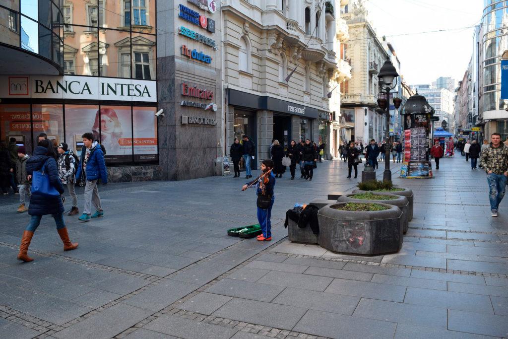 Работа в Сербии, Белграде