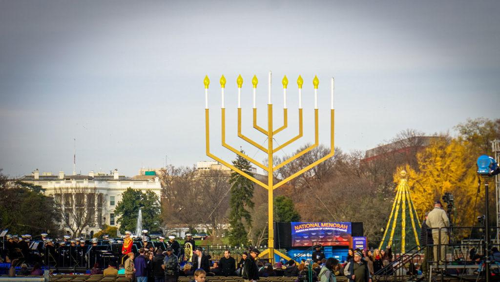 Освещение Национальной Хануки Меноры, Вашингтон США